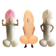 fancy penis Inflatable Costume Mascot costume Waterproof Halloween  mascot Party Suit Child