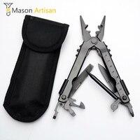 Hot Multi Tool 8 IN 1 Multifunctional Flexible Pliers Herramientas Ferramentas Comping Tool Stainless Steel Hand