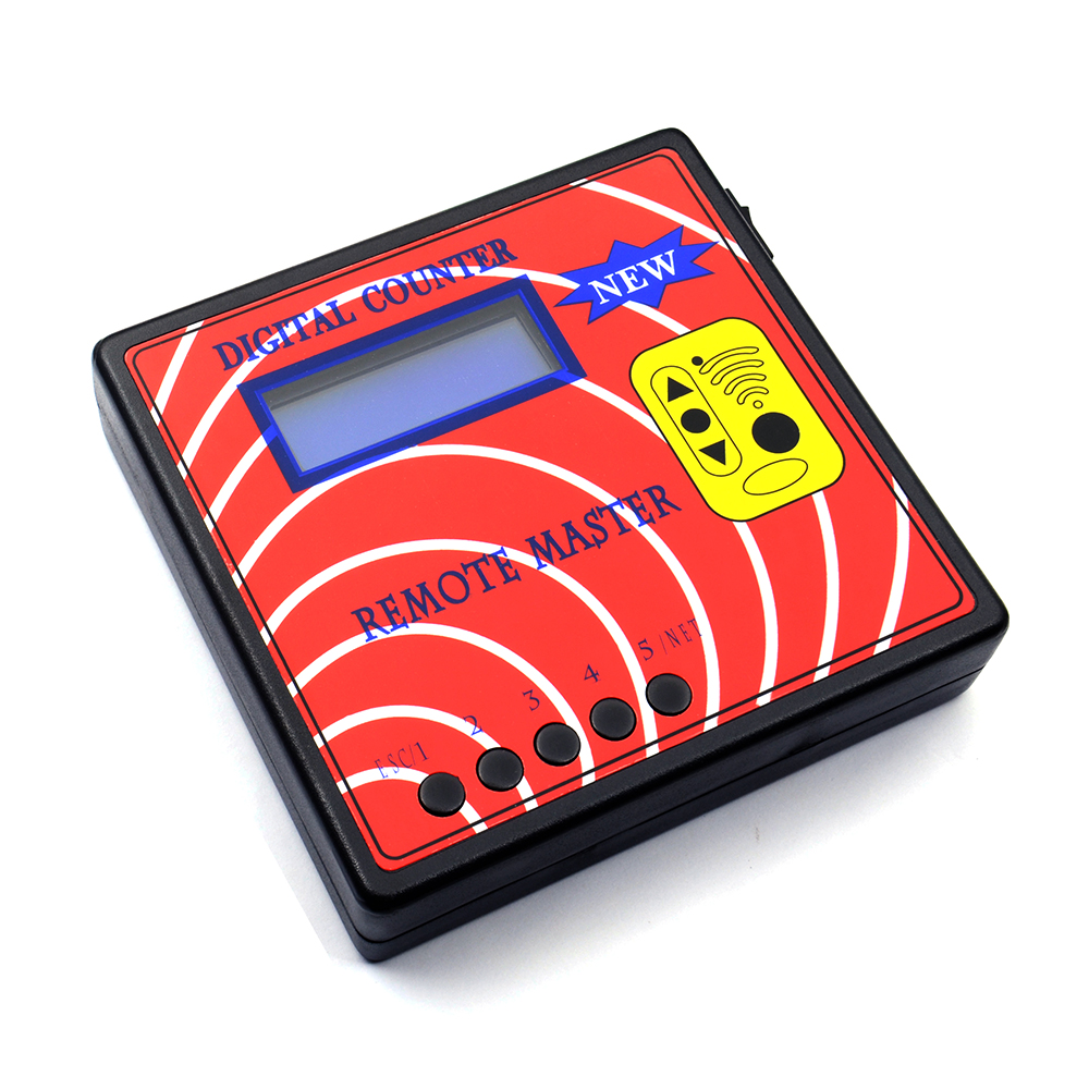10TH Digital Counter Remote Master copy of RF Remote Controller Frequency check