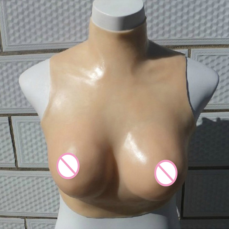 Breast Forms Transgender False Breasts Drag Queen Silicone Fake Boobs Shemale Artificial Breast Size L Skin Color C Cup 1200g dd cup boobs for drag shemale transgender prosthetic breasts cups for dresses silicone fake breast