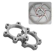 Bicycle Freewheel Threaded Hubs Disk Disc Brake Rotor 6 Bolt Flange Adapter