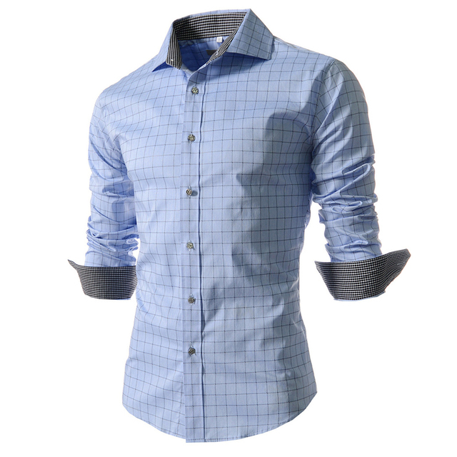 Heren Overhemd Casual.Oversize Herfst Mode Slanke Tops Shirts Casual Mannen Shirt Heren