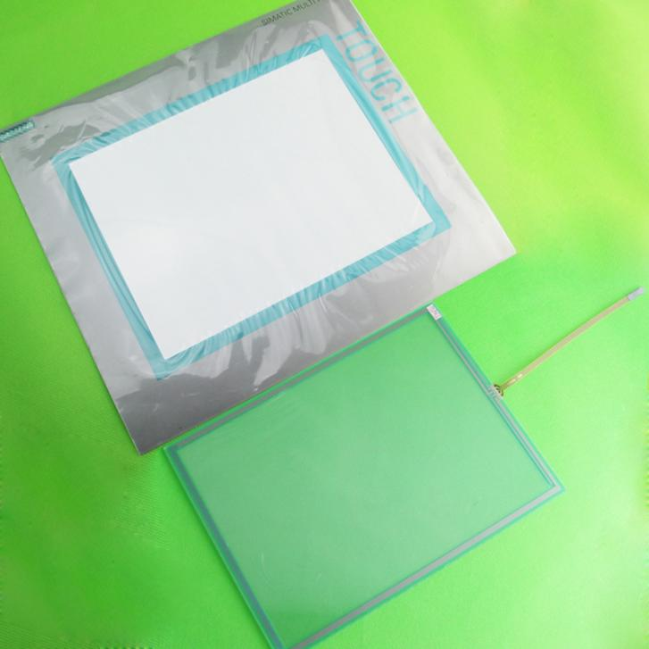 New Touch Screen Panel Glass + Protective film For MP277-10 6AV6643-0CD01-1AX1 new tp3196s1 touch screen glass panel