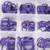 Roxo 265 pcs anel de vedação da caixa de manutenção automóvel compressor de ar condicionado