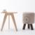 60 cm circular de mesa, 100% madera mesa de té, mesa De centro de Ocio, mesa de Comedor de madera muebles para la sala, muebles de la sala,