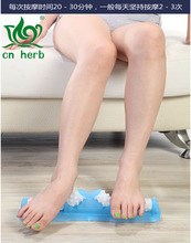 Cn Herb Of Royal Dahoc Authentic A Foot Massage Wheel 8658 Cubic Massage, Hole Roller