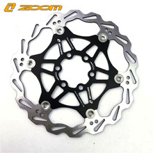 ZOOM 6 inch 160mm 180mm 203mm Float Floating Disc Brake Rotor Mountain Bike MTB DH Cycling Bicycle Rotors disc brake цены онлайн
