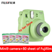 New 5 Colors Fujifilm Instax Mini 9 Instant Photo Camera 80 Sheet Fuji Instax Mini 8