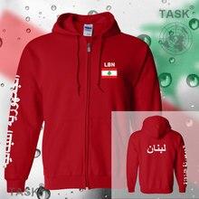 Lebanon Lebanese Liban mens hoodies and sweatshirt casual polo sweat suit streetwear tracksuit nations fleece zipper flag LBN LB
