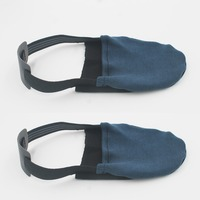 Two Bowling Shoe Cover Fits Most Shoes NO SHOES