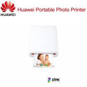 Image 2 - Оригинальный принтер Huawei Zink 300 точек/дюйм, портативный фотопринтер Honor Pocket, Bluetooth 4,1, поддержка DIY Share 500 мАч