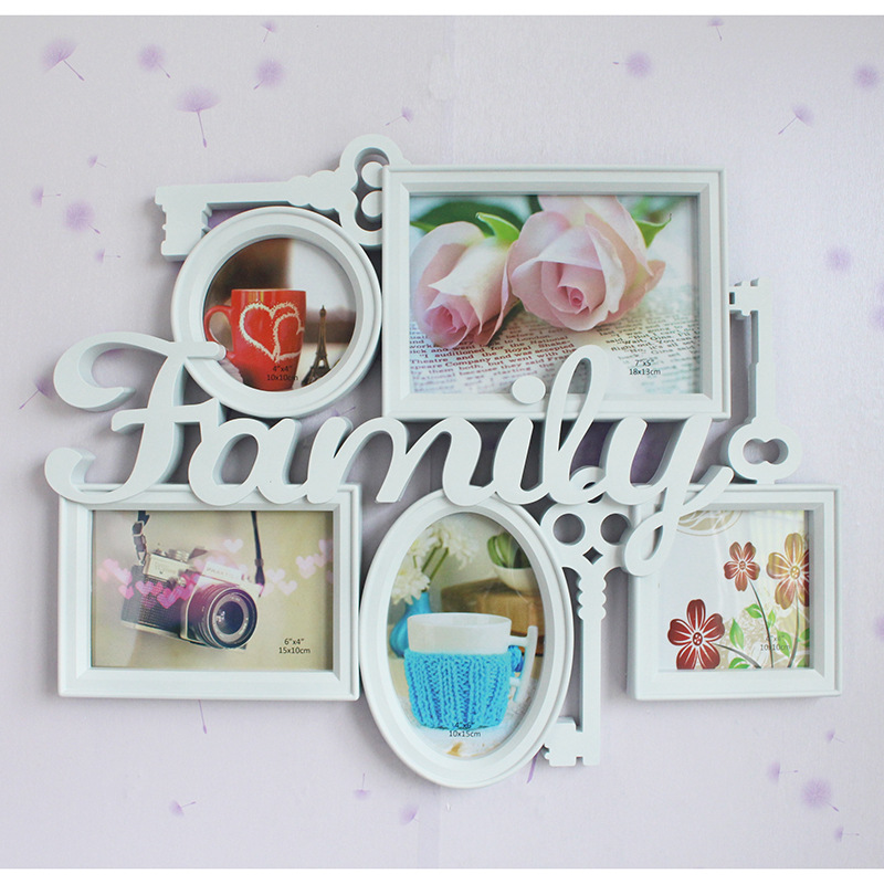 Hot White Family Multi Photo Frame Picture Holder Home ...