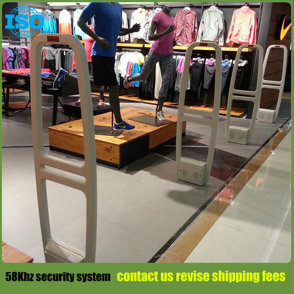 Hot sales supermarket and retail shop 58KHZ AM anti theft system AM antenna eas clothing security system цена