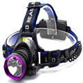 CREE XM-L T6 LED rechargeable Torch Headlamp + 2X 18650 battery +EU AC Charger  3 Modes Torch Flashlight