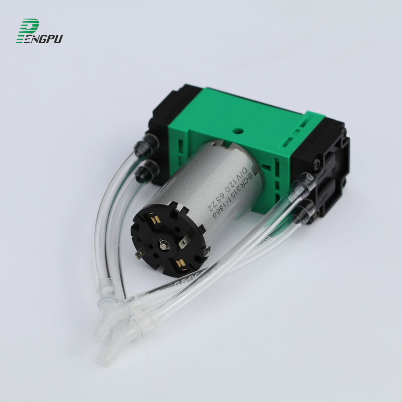 3853d1868c35 US $85.0 |12V/24V 120kPa Brush EPDM Small Air Pump Micro Diaphragm Pump  Miniature Air Compressor Pressure Application-in Pumps from Home  Improvement ...