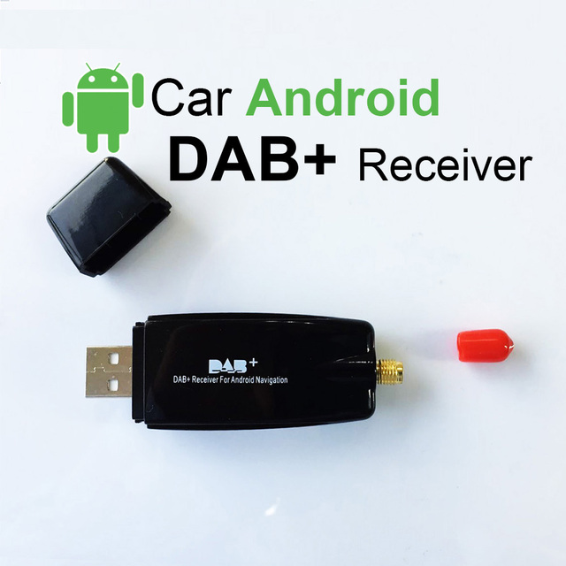 European Digital Radio DAB+ Receiver with Antenna For Android Car DVD Player For Digital Audio Broadcast Receiver
