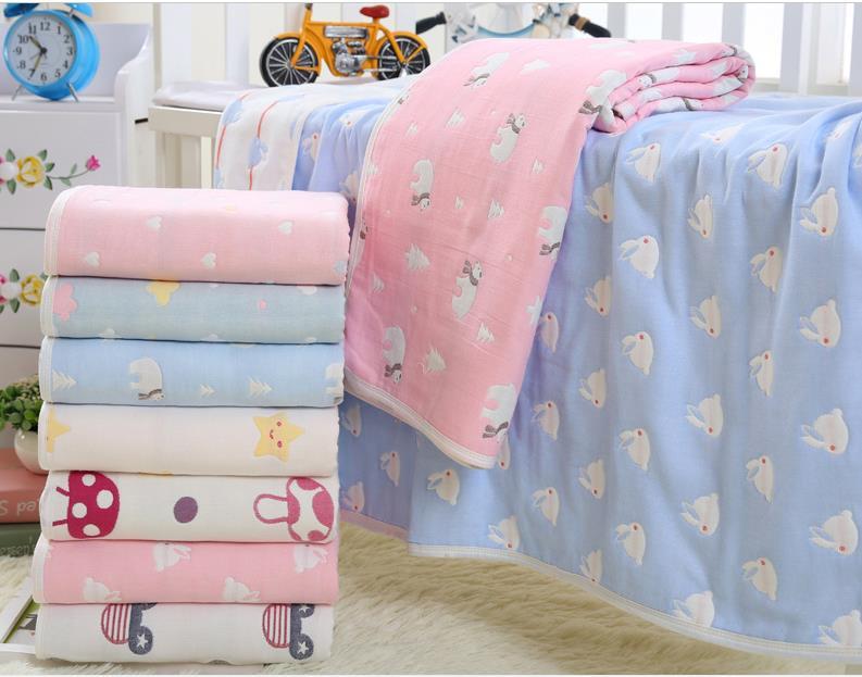 Discount! Baby Blanket 110*110cm Baby Bedding Set Newborn Faux Fur Super Soft Cotton Cartoon Blankets For Beds Thick Warm Kids