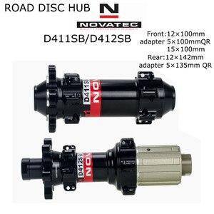 Image 5 - 29er Mtb Disc Wheels 28x24mm Tubeless NOVATEC D411SB/D412SB Ultralight Carbon Mtb Wheels 1330g±30g Bike Disc Wheelset 1423 Spoke