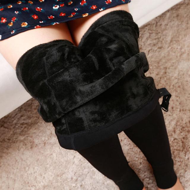 Winter Maternity Leggings (Black)