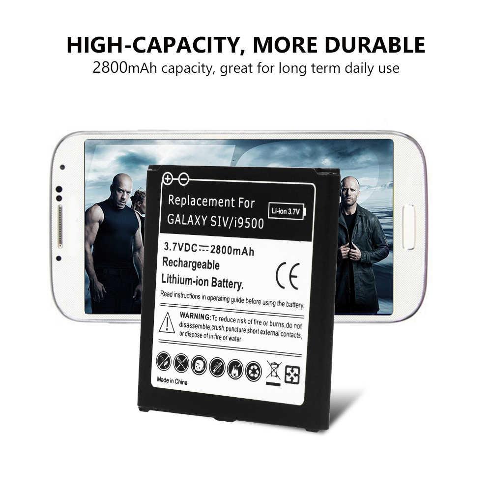 2800mah Lithium Battery for samsung galaxy s4 i9500 i9505 i9506 I959  Verizon I545 I9295 E330s Sprint L720 Phone Batteries