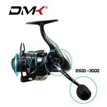 2018 DMK 2500-5000 Spinning Fishing Reel 5.2:1/11BB CNC Rotary Handle Graphite Body Molinete De Pesca Carretilha
