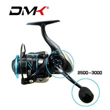 2018 DMK 2500-5000 Spinning Fishing Reel 5.2:1/11BB Spinning Reel CNC Rotary Deal with Graphite Physique Molinete De Pesca Carretilha