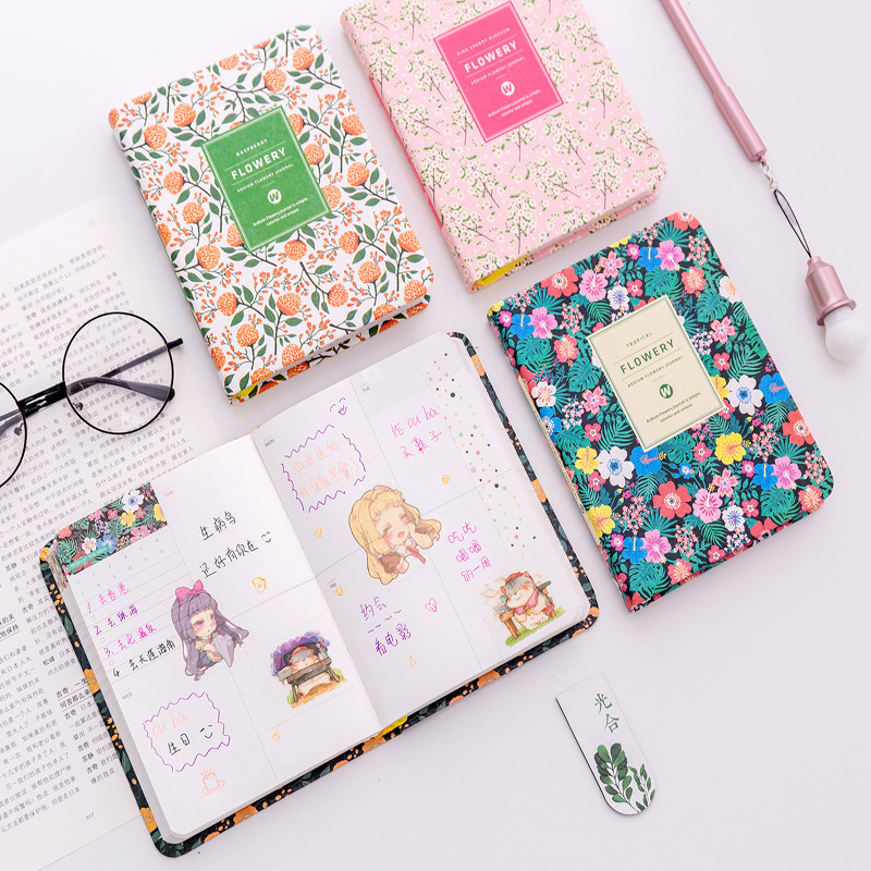 Korean Creative flower notebook Schedule Book Diary Weekly Monthly Planner Organizer Notebook Kawaii Calendar Notepad 5006 цена 2017