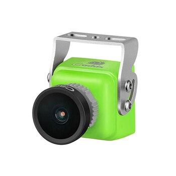 Original Caddx Turbo S1 1/3 CCD 600TVL IR Blocked FPV Camera Yellow/Green NTSC/PAL DC 5V-40V Wide Voltage