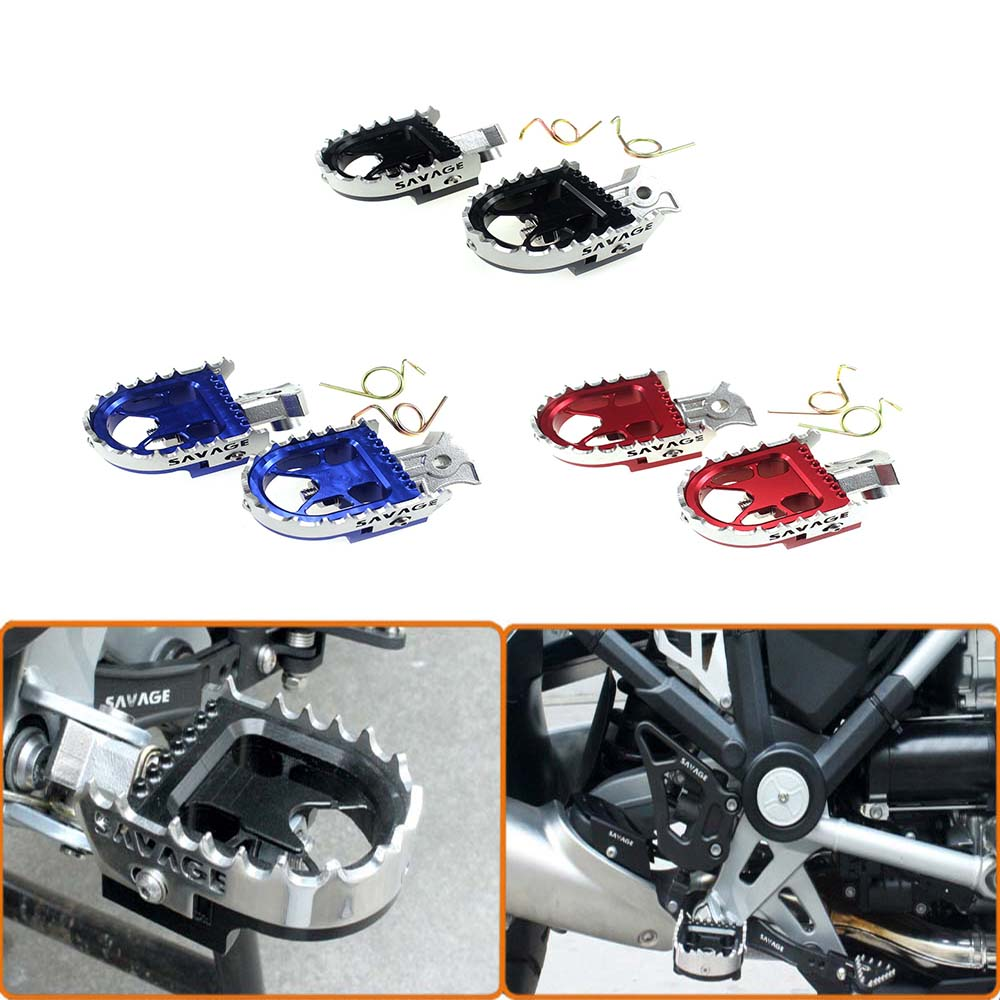 1Pair For BMW R1200GS LC 14-16 R1200GS Adventure 14-16 Motorcycle Wide Enduro Foot Pegs Rests Tilt Angle Adjustable Footpegs 10pcs diy usb a type male