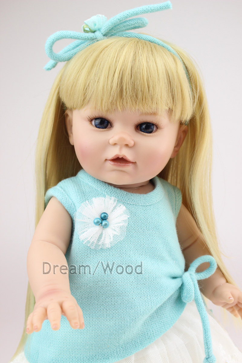 New 40cm Fashion Princess Girl Doll Soft Vinyl American Girl Doll Girls Brinquedos Reborn Baby Doll Toy кукла fashion royalty crazy girl misaki nippon fashion doll 2008