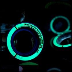 Автомобильный Стайлинг, светящееся автомобильное зажигание, кольцо для ключей, декоративная крышка для Ford Focus 2 3 4 2005-2017 для Focus ST RS, автомобил...