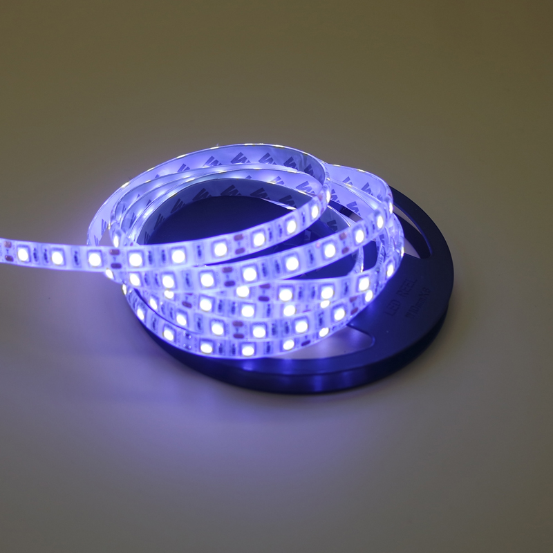 DC12V LEDs Lamp ribbon 5050 SMD non/ip65 waterproof LED strip light 12V 1m 2m 3m 5m 60leds/m LED tape lamp white/warm white/rgb