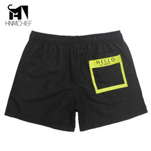 HNMCHIEF Brand Mens Active Trunks Workout Cargos Man Jogger Boxers Sweatpants Board Beach Shorts Men Short Bottoms Quick Drying(China)
