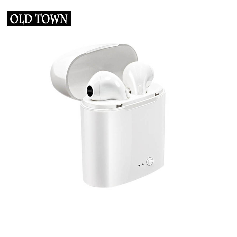 Earpods I7 TWS Bluetooth Earphones I7s Mini True Wireless Earbud Headset for Apple Headphone IPhone Android Charging Box Samsung