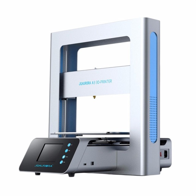 Portable 3D Printer Full Metal Frame High Precision Large Printing Size USB Printing Machine LCD Touch Screen Display