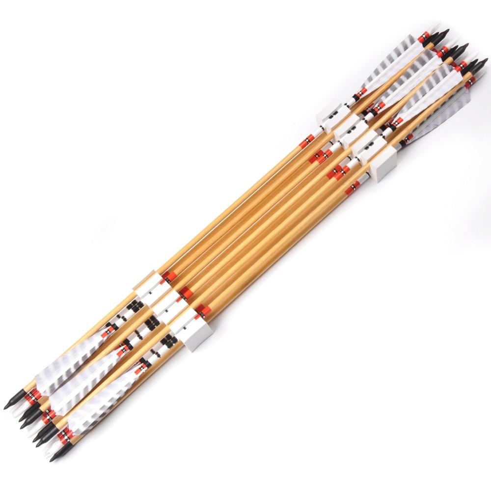 od 8.5mm de madeira pinho setas com