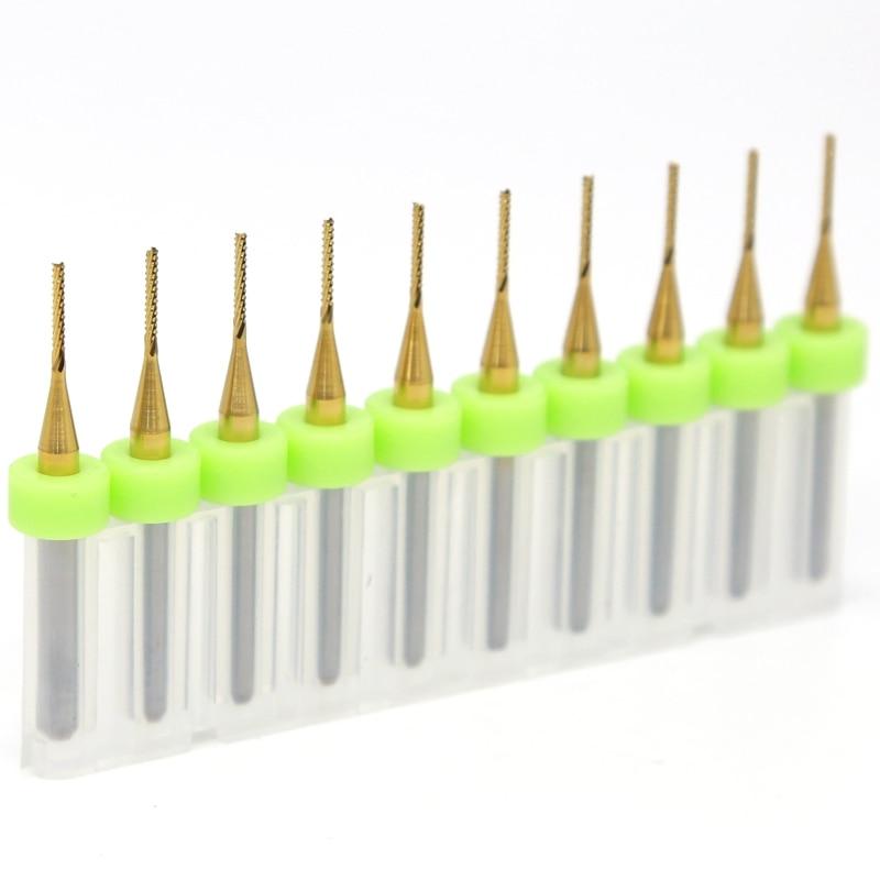PCB lazerio pjovimo staklės 1.0mm, 10PCS CNC volframo karbido - Staklės ir priedai - Nuotrauka 2