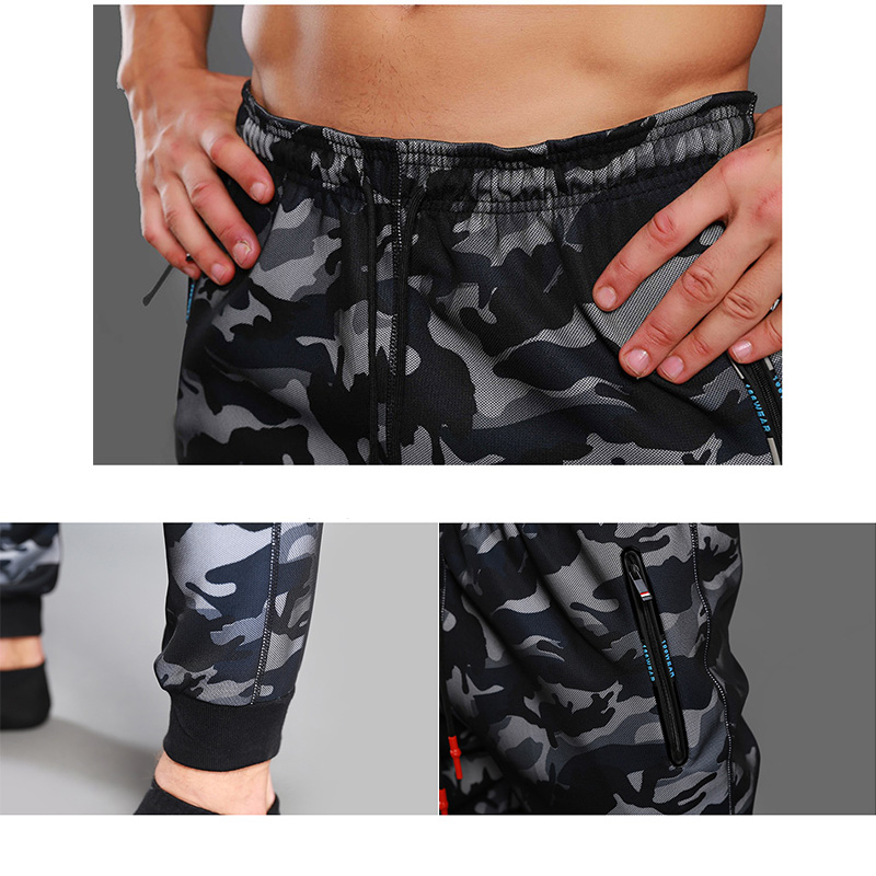 2018 Camouflage Jogging Sports Pants for Men 5