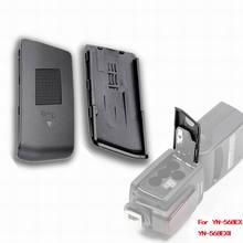 Nova yongnuo flash bateria porta capa para flash speedlite unidade YN 568EX para canon nikon YN 568EX ii para canon, frete grátis