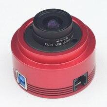 ZWO ASI290MC цветная астрономическая камера ASI, планетарная, солнечная, лучевая, направляющая, высокая скорость, USB3.0