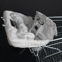 Детские магазинная Тележка для покупок сиденье, стул для кормления защита безопасности путешествия переносная магазинная тележка подушка
