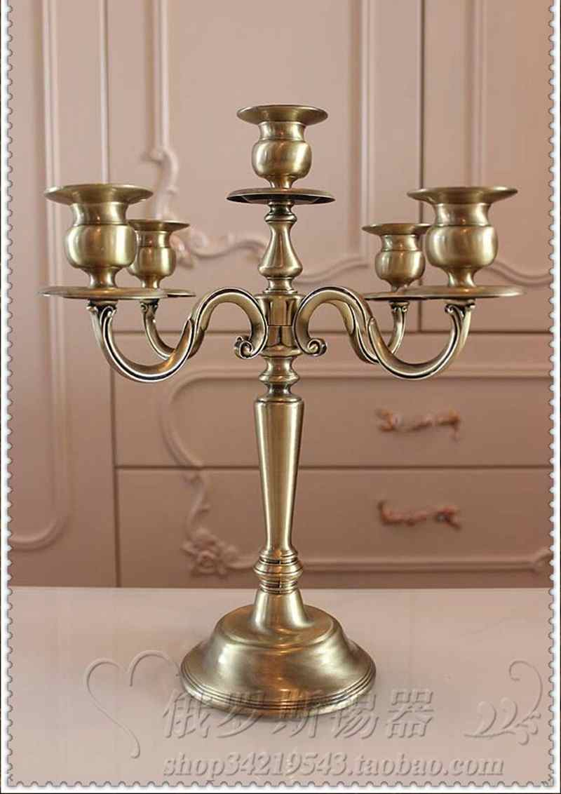 Think, Vintage candlestick holders right!