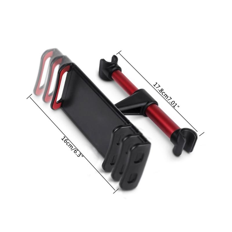 Kostenlose Lieferung Auto Rücksitz Kopfstütze Tablet Halterung Ständer Halter Aluminium Legierung Universal Halterung