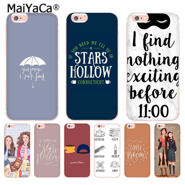 the best attitude adef0 287d1 US $1.32 49% OFF|MaiYaCa Gilmore Girls Rory Honorary Luxury phone case for  Apple iPhone 8 7 6 6S Plus X 5 5S SE 5C 4 4S Cover XS XR XSMAX-in ...