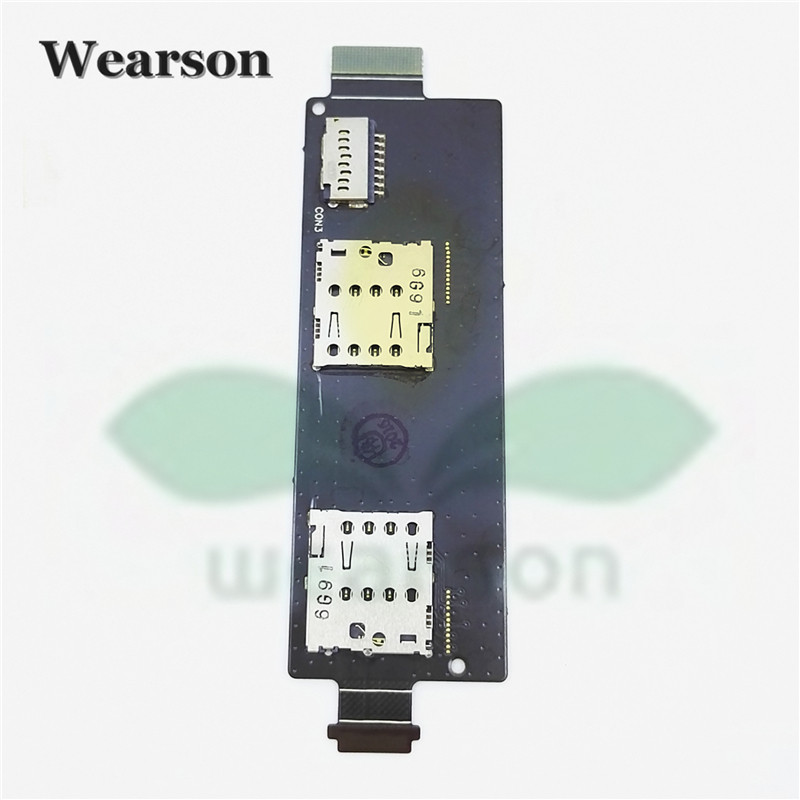 For Asus Zenfone5 Lite A502CG Sim Card Slot Memory Card Board Flex Cable FPC 100% Original Free Shipping With Tracking Number (2)