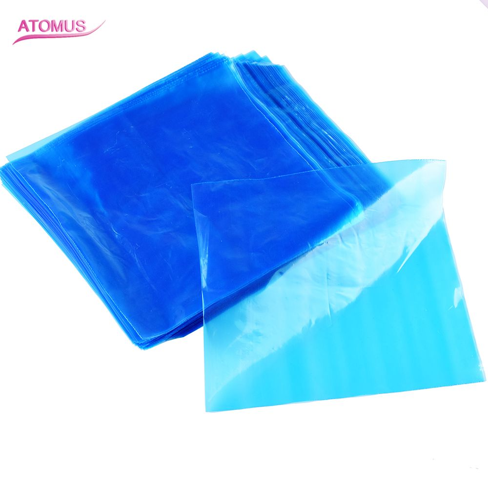 200Pcs/set Tattoo Disposable Cover for Tattoo Machine Clip Cord Sleeve Cover Bag Hygienic Tattoo Machine Supply Storage Pouch