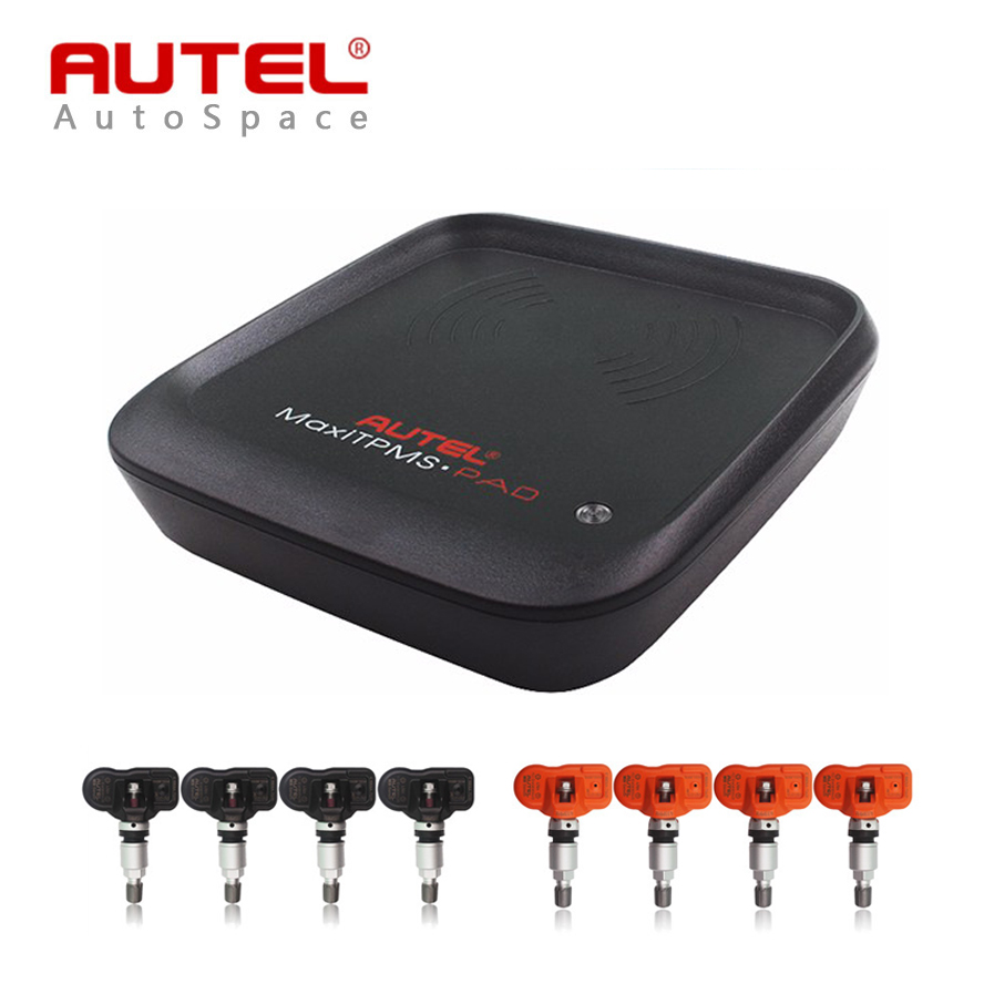Prix pour Autel MaxiTPMS PAD Pneu Programmeur + 4 pcs MX-Capteur 433 MHz 315 MHZ Capteur de Programmation Remplacer Lire copie MXsensor 433 315 MHz