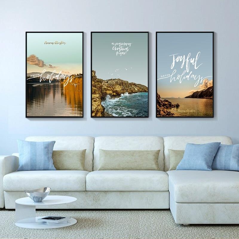 Achat Rose Romantique Marin Nordique Art Toile Affiche Et ...