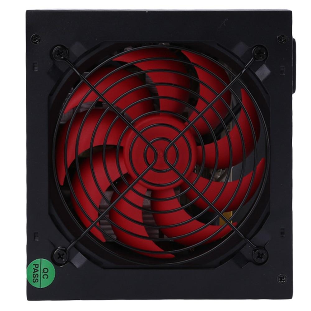 850 Вт Max настольных игр pc шасси Питание вентилятор фактический 550 Вт эффективность компьютера Питание работать идеально
