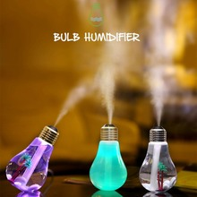 LED Lamp Air USB Ultrasonic Humidifier For Home Essential Oil Diffuser Atomizer Air Freshener Mist Maker With LED Night Light